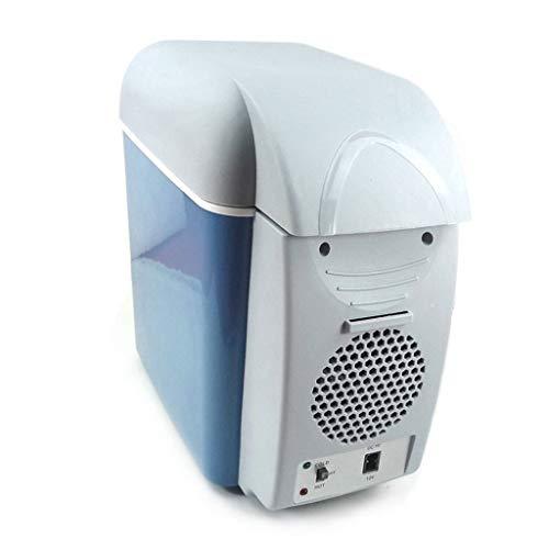 HDZWW 7.5L 12V DC 220V AC Dual-Core-Kühlung Wärmer, Kühlschrank Kühlschrank Gas Tragbarer Kühler Auto Dual-Use Kühlschrank Silent Dual-Corefridge Power Compatibility hochwertiger Kunststoff AC/DC