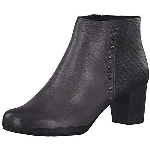 MARCO TOZZI Women's Ankle Boot Gray, Dimensione:39