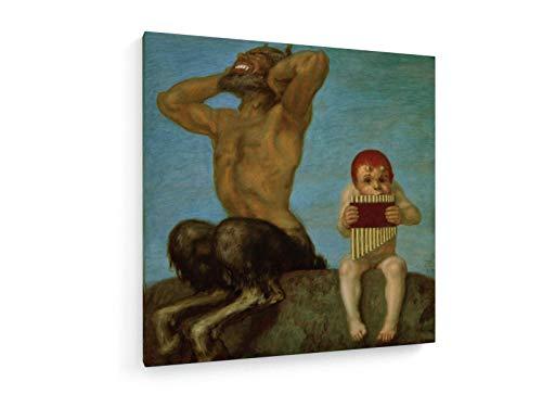 ssonanz - 80x80 cm - Textil-Leinwandbild auf Keilrahmen - Wand-Bild - Kunst, Gemälde, Foto, Bild auf Leinwand - Alte Meister/Museum ()