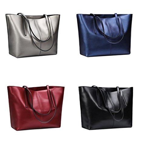 XY Fancy, Borsa a spalla donna argento argento, Schwarz S (nero) - RH#BB0918-1586-JPY79 Blau S