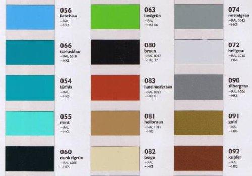 Oracal Orafol 651 Folie 5m freie Farbwahl 60 glänzende Farben in 4 Größen, 31,5 cm Farbe 10 - 8