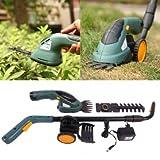 East 3,6 V 2 in 1 Elektrische Akku-Grasschere Heckenschere Power Tool