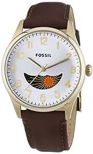 Fossil - FS4847 - Montre Homme - Quartz Analogique - Bracelet Cuir Marron