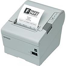 Epson TM-T88V, USB, RS232, color blanco