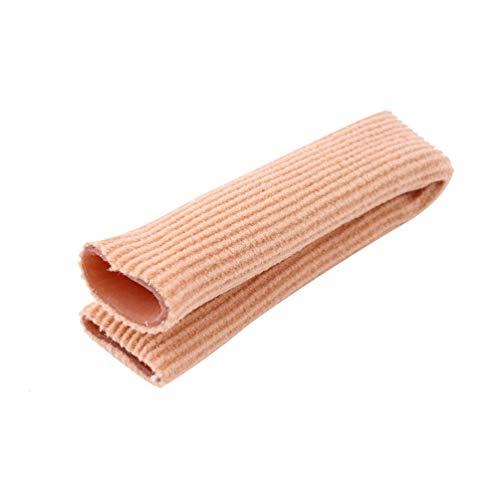Gewebe Gel Tube Bandage Finger & Toe Protective Fuß Füße Schmerzlinderung 15CM Fußschutz für Fußpflege Einlegesohlen - Pink -