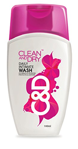 Clean and Dry Wash- 100 ml  available at amazon for Rs.125