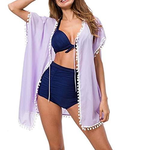 806d36d38 OPAKY Mujer Pareos Playa Traje de Baño Vestido de la Playa Bikini Cover up Camisola  de