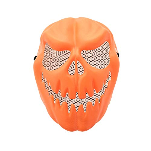 Tanz Schwänze Kostüm Hut - CANDLLY Halloween Dekoration Cosplay Unisex Lustige Kürbis Latex Maske Halloween Party Cosplay Gesichtsmaske Werkzeug Prop Kostüm Zubehör Herren Damen Kürbis Tricky Maske