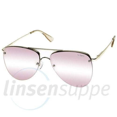 Le Specs Herren die Prinzen-Sonnenbrille uni Blush