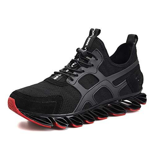 YAN Zapatillas de Deporte para Hombre Zapatillas de Deporte Zapatillas de Tenis atléticas Casuales Zapatillas de Entrenamiento y Entrenamiento Cruzado Padre/Hijo / Esposo Regalo