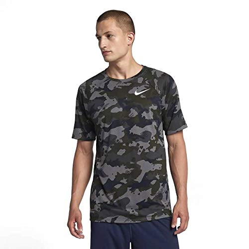 the latest 0efd6 e6508 Nike M Nk Dry Leg Tee Camo AOP, T-Shirt Uomo
