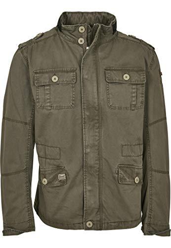 Brandit britannia giacca, oliva xl