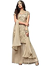 be3052874 Amazon.in  Net - Salwar Suits   Ethnic Wear  Clothing   Accessories