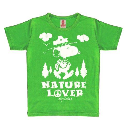 Logoshirt - 046-0607/308 - T-Shirt Mixte, Vert (Vintage Green), 18-24 Mois
