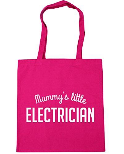hippowarehouse Mummy 's Little Elektriker Tote Shopping Gym Beach Bag 42cm 3838, 10Liter,...
