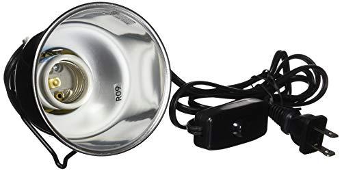 Zoo Med LF-35e Nano Dome Lamp Fixture - Lampenfassung für Nano-Terrarien 40 W E27 -