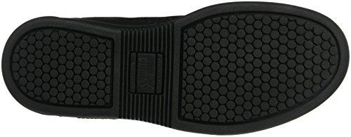 Klassischer Tennisschuh auf einer vielseitigen Cupsohle. Schwarz