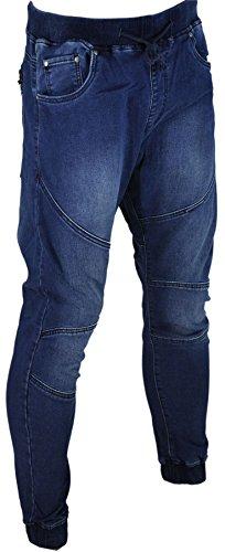 Jeans homme fashion, jeans skinny, jeans sarouel bleu1017
