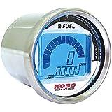 Koso - Velocímetro Koso Digital Lcd - Indicador De Combustible Ronda