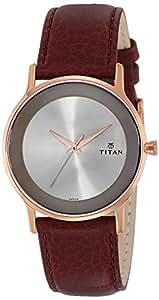 Titan Retro Analog Champagne Dial Men's Watch -NK1672WL01