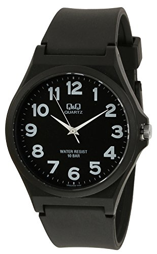 Q&Q Regular Analog Black Dial Men's Watch - VR02J006Y image
