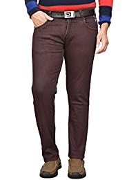 d4ffd99fa8d British Terminal Dark Maroon Cotton Jeans Pant for Man Stretchable Slim fit  Stylish Mens Jeans