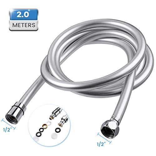 Baban 2M Flessibile Doccia, Adatto a Tutti i Soffione Doccia, facile da installare e resistente ad alta temperatura.