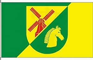 Königsbanner Hochformatflagge Hamwarde - 80 x 200cm - Flagge und Fahne
