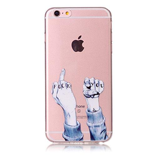 iPhone 6S Plus Hülle,iPhone 6 Plus Hülle TPU Case Schutzhülle Silikon Case,3D Kreative Ultra Slim...