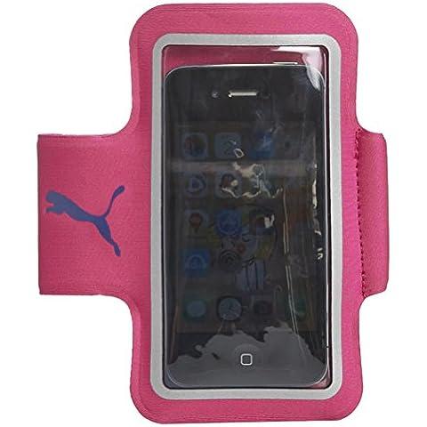 PUMA, Fascia da braccio porta cellulare, Rosa (Virtual Pink/Blueprint), Taglia unica