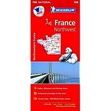 France. Northwest 1:500.000