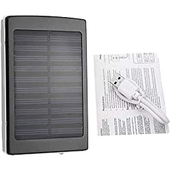 ouweish 50000mah de Gran Capacidad del Panel Solar Power Bank Cargador de batería de teléfono Externo