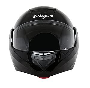 Vega Crux DX Flip-Up Helmet (Black, L)