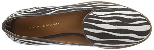 Tommy Hilfiger Diana 7z, Chaussons femme Multicolore - Mehrfarbig (ZEBRA/COFFEE BEAN 002)