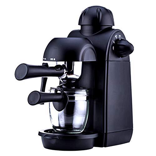 YJSY Halbautomatische Kaffeemaschinenpumpe Typ 240ml Dampfmilchschaum Frische gemahlenen Kaffeekanne...