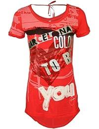 DESIGUAL Mujer Diseñador Top Shirt Camisetas - ILIA -