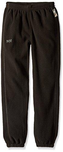 Helly Hansen Jr Daybreaker Fleece Scarf Pant Fleece für Kinder, schwarz, schwarz, 176/16