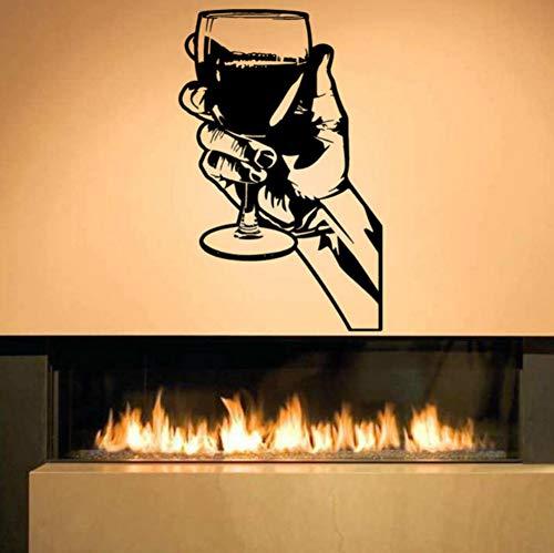 (Yzybzwhisky Tequila Entfernbare Wandaufkleber Für Küche Wandbild Room Bar Alkohol Restaurant Vinyl Dekoration Wein Getränk Party)