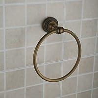 Hiendure® Arredo bagno:ottone anello da muro portasalviette