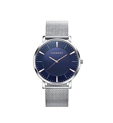 Reloj Viceroy Hombre Clasico Esterilla 32331-37 Azul de GRUPO MUNRECO - VICEROY
