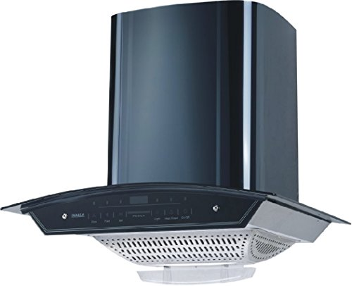 Inalsa Cruise 60bkac 60 Cm Cooker Hood Chimney (black)