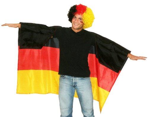Rubies 6190417 - Poncho Deutschland -