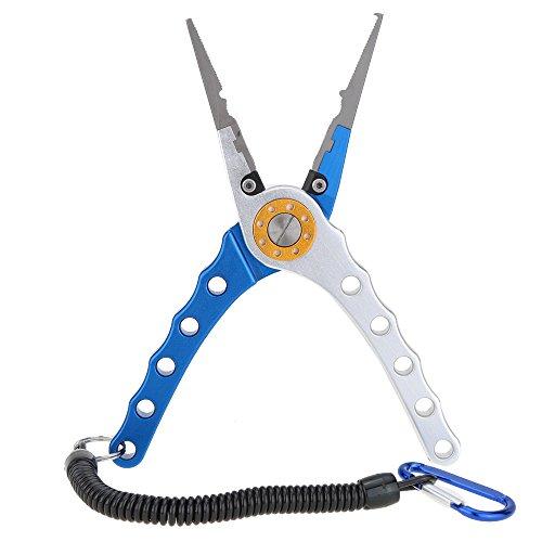 Lixada 20cm Außen multifunktionale Angeln Zangen Linie Cutter Hook Remover Tackle