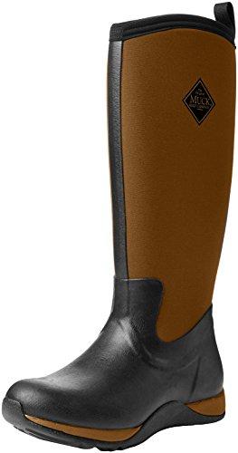 Muck Boots Damen Women's Arctic Adventure Gummistiefel, Schwarz (Black/tan), 41 EU