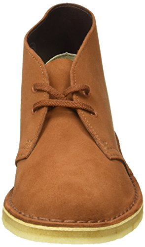 Clarks Originals Damen Desert Boot Braun (Dark Tan Suede)