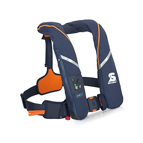 Preisvergleich Produktbild Automatische Rettungsweste Secumar Survival 275 Harness dunkelblau / orange