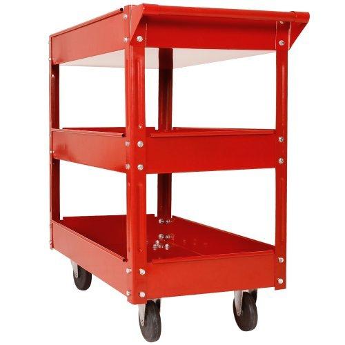 Preisvergleich Produktbild Werkzeugwagen / Rollwagen Werkstattwagen mit 3 Etagen (Einzeln)