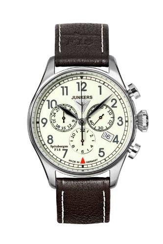 Junkers Orologio da uomo cronografo 6186–5Serie Spitzbergen F13