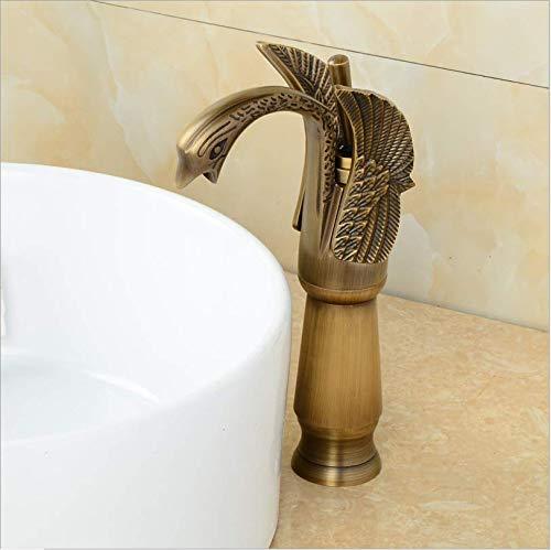 jukunlun Neue Ankunft Gold Finish Hochwertige Bad Einhebel Vogel Design Becken Wasserhahn Waschbecken Wasserhahn Waschtischmischer Bad Wasserhahn -