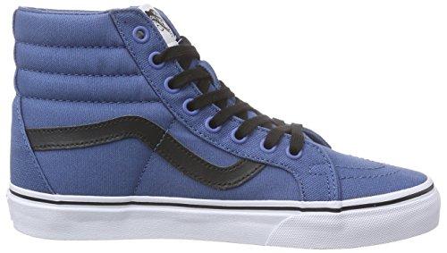 Vans Unisex-Erwachsene Sk8-Hi Reissue Sneaker Blau (canvas/navy/black)